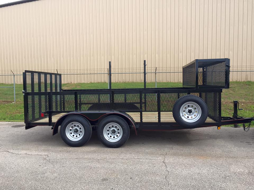 Pand T tandem axle trailer