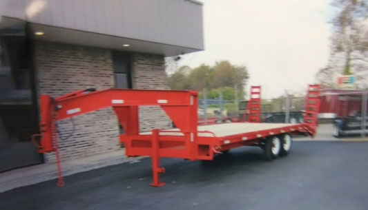 P and T Gooseneck trailer